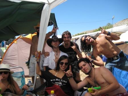 Parte del grupo y Pepe algo loco ;)